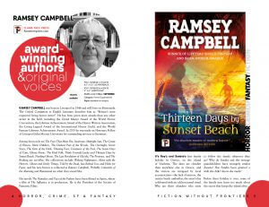 Flame Tree Press catalogue, Ramsey Campbell
