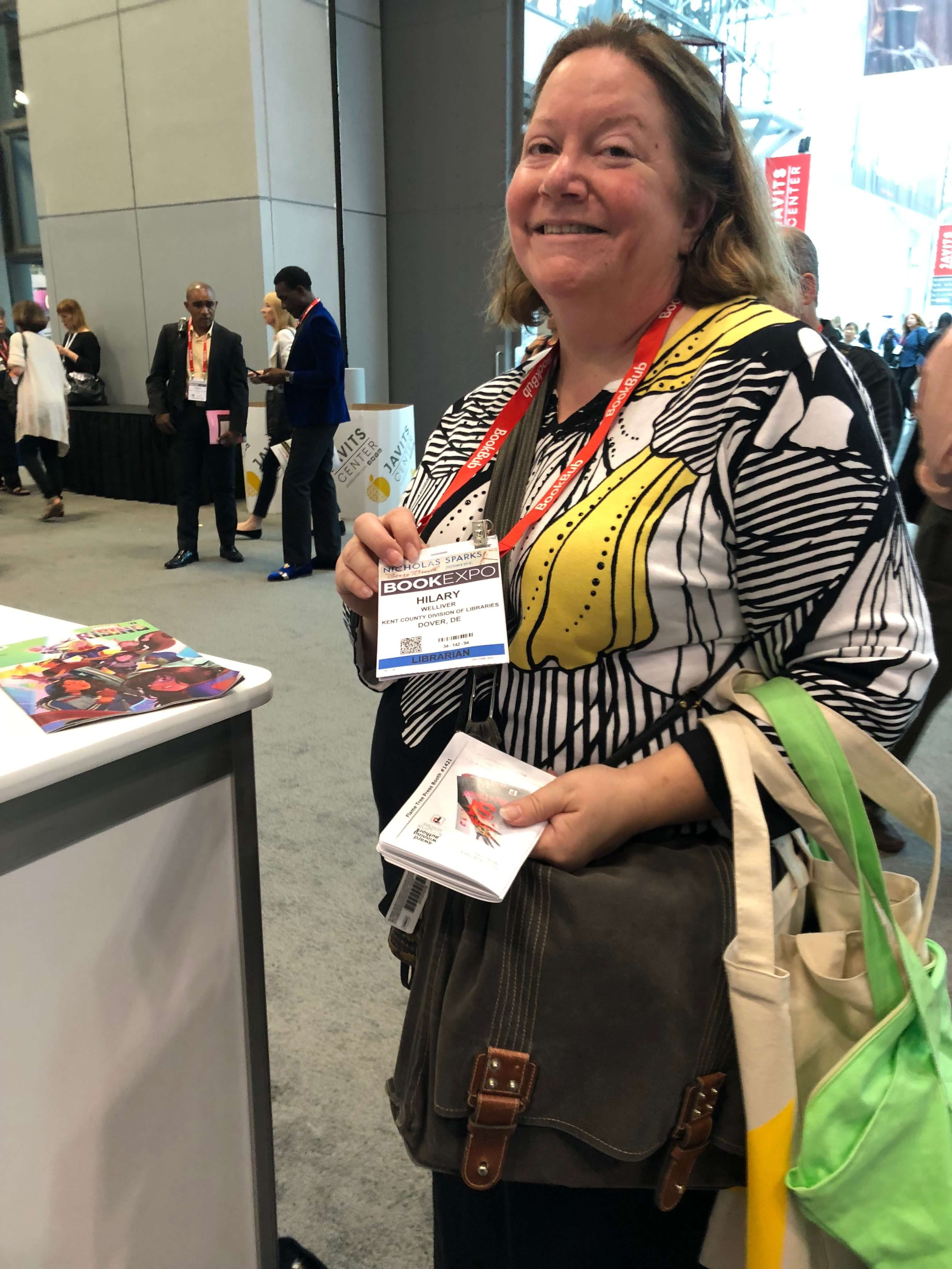 Librarians at BookExpo18