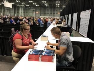 Jonathan Janz Flame Tree Press author signing