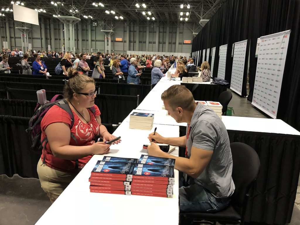 Jonathan Janz Flame Tree Press author signing