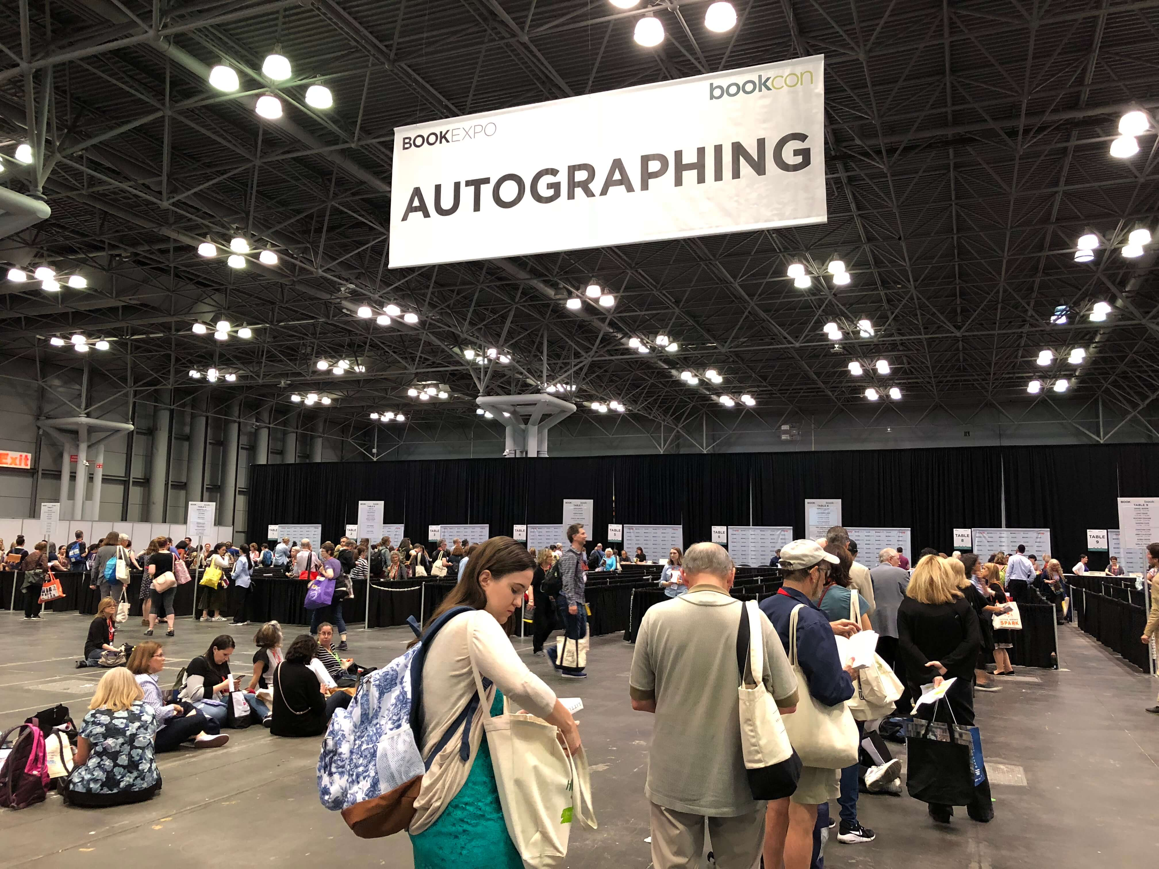 BookExpo Flame Tree author signing