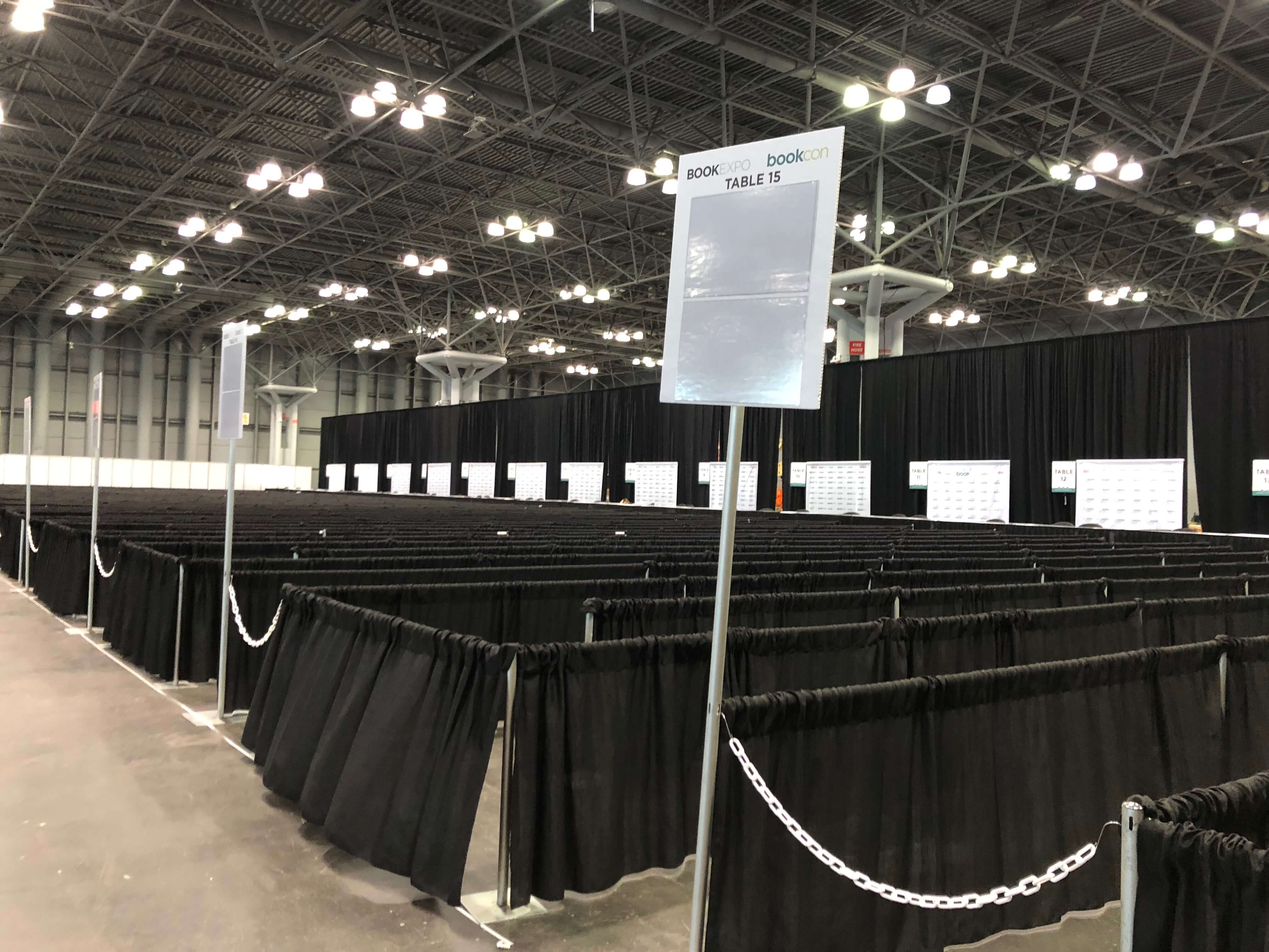 BookExpo18 before the start