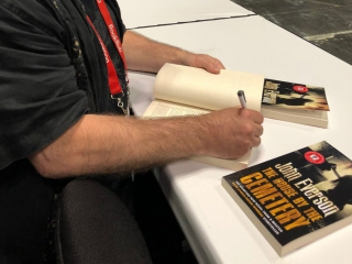 John Everson, The House by the Cemetery, Flame Tree Press signing
