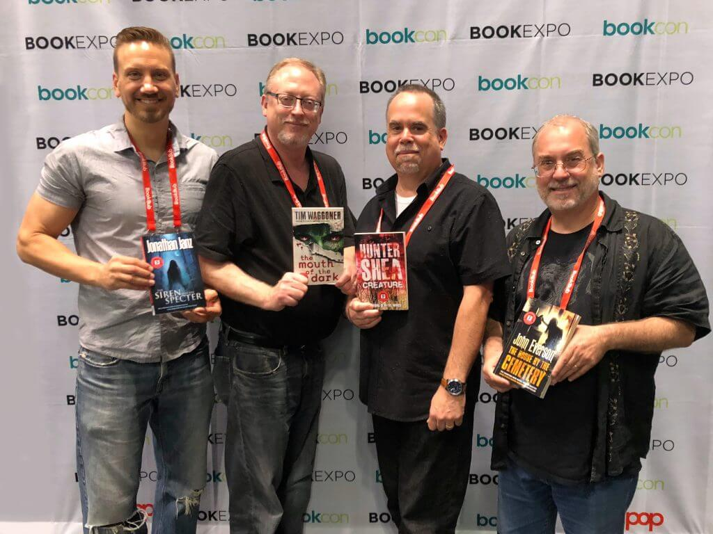 Jonathan Janz, Tim Waggoner, Hunter Shea, John Everson, Flame Tree Author Signing