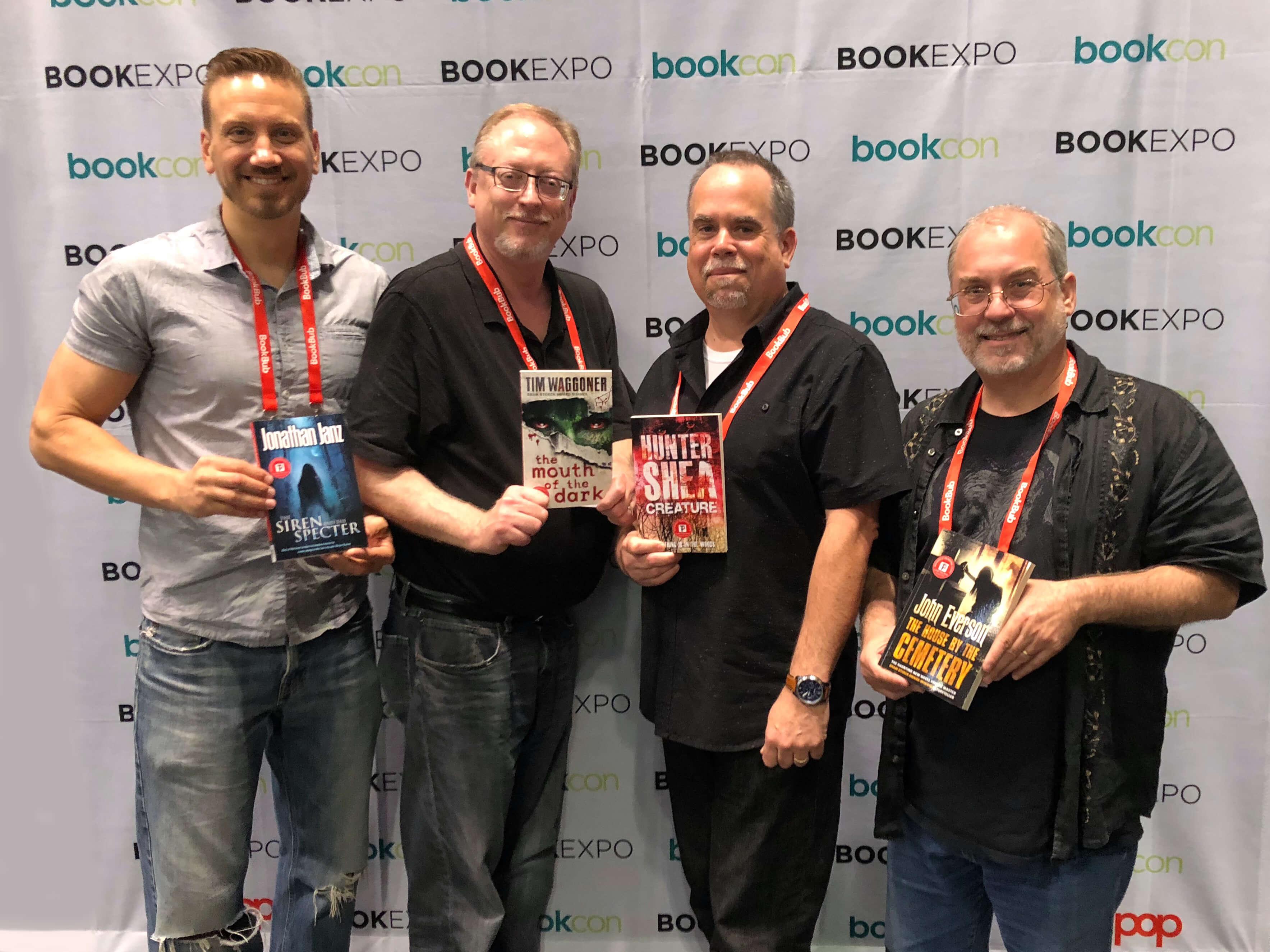 Jonathan Janz, Tim Waggoner, Hunter Shea, John Everson, Flame Tree Author Signing