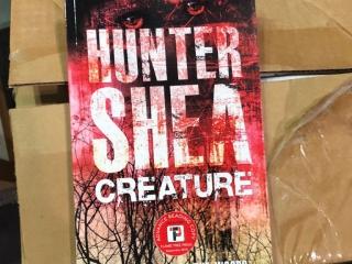 Creature, Hunter Shea, Author Signing copies