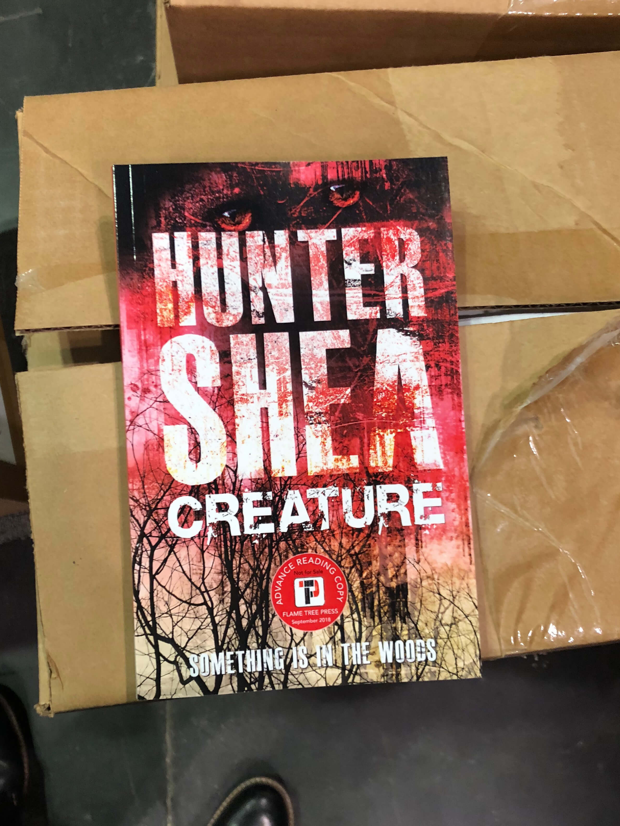 Creature, Hunter Shea, Author Signing copies