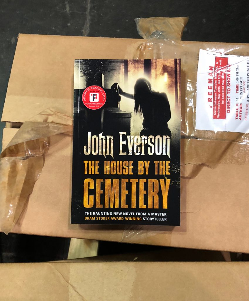 John Everson's The House by the Cemetery, Flame Tree Press
