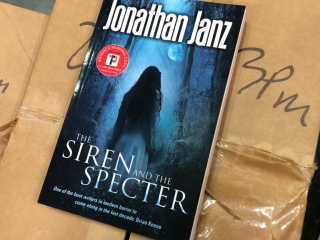 Jonathan Janz, The Siren and the Specter, Flame Tree Press