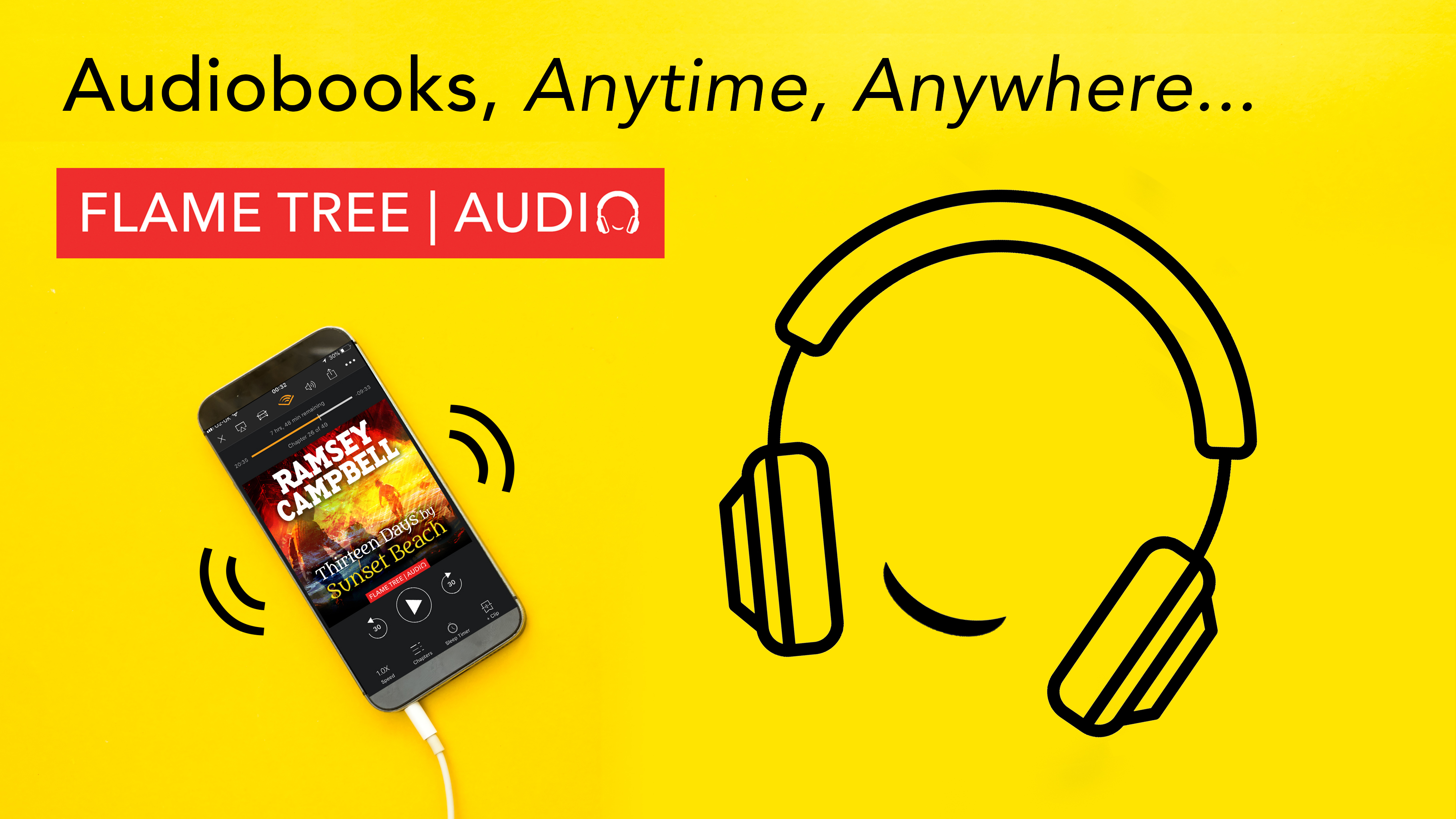 Flame Tree Audiobooks, anytime, anywhere, Thirteen Days by Sunset Beach