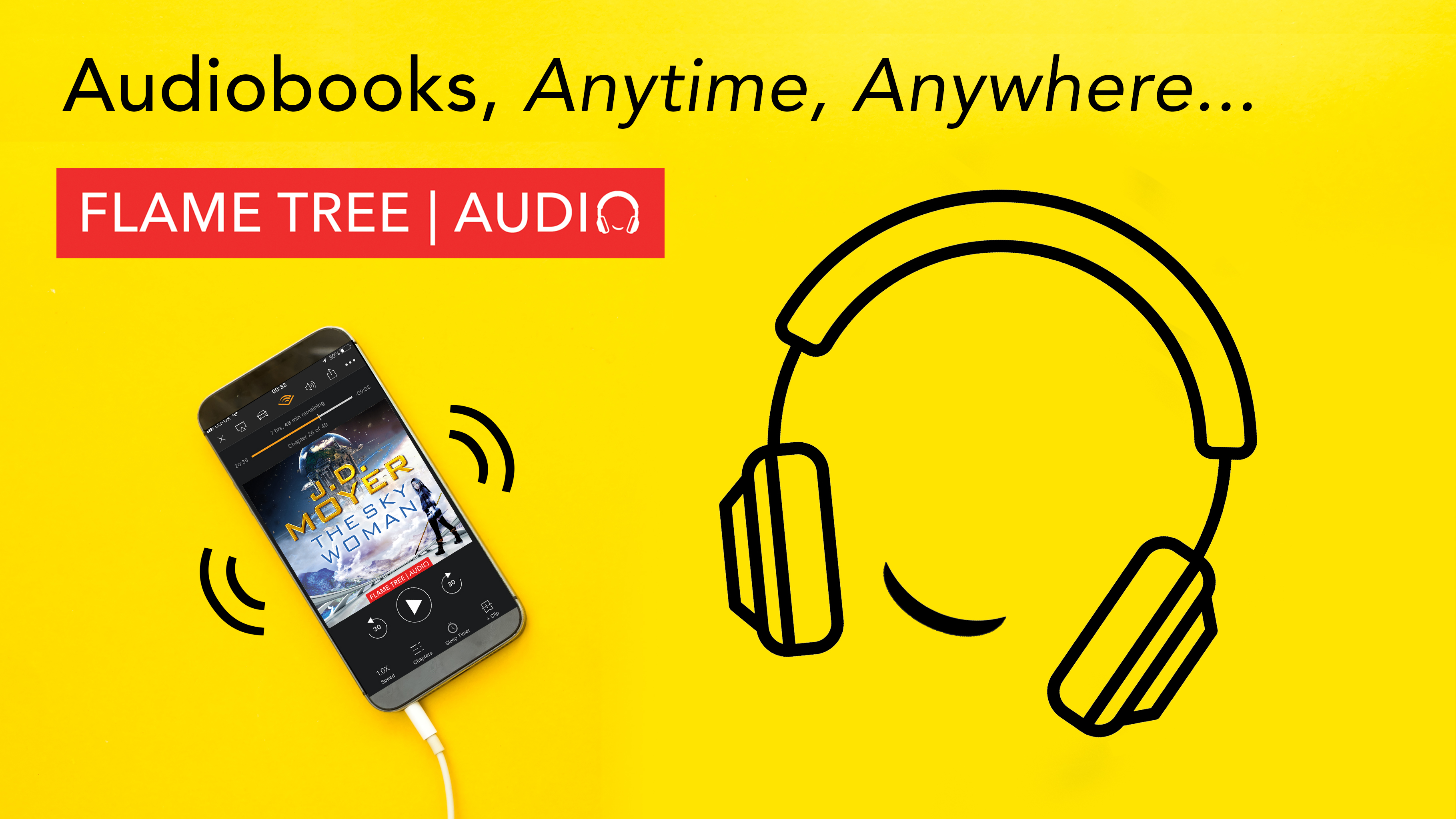Flame Tree Audiobooks, anytime, anywhere, The Sky Woman