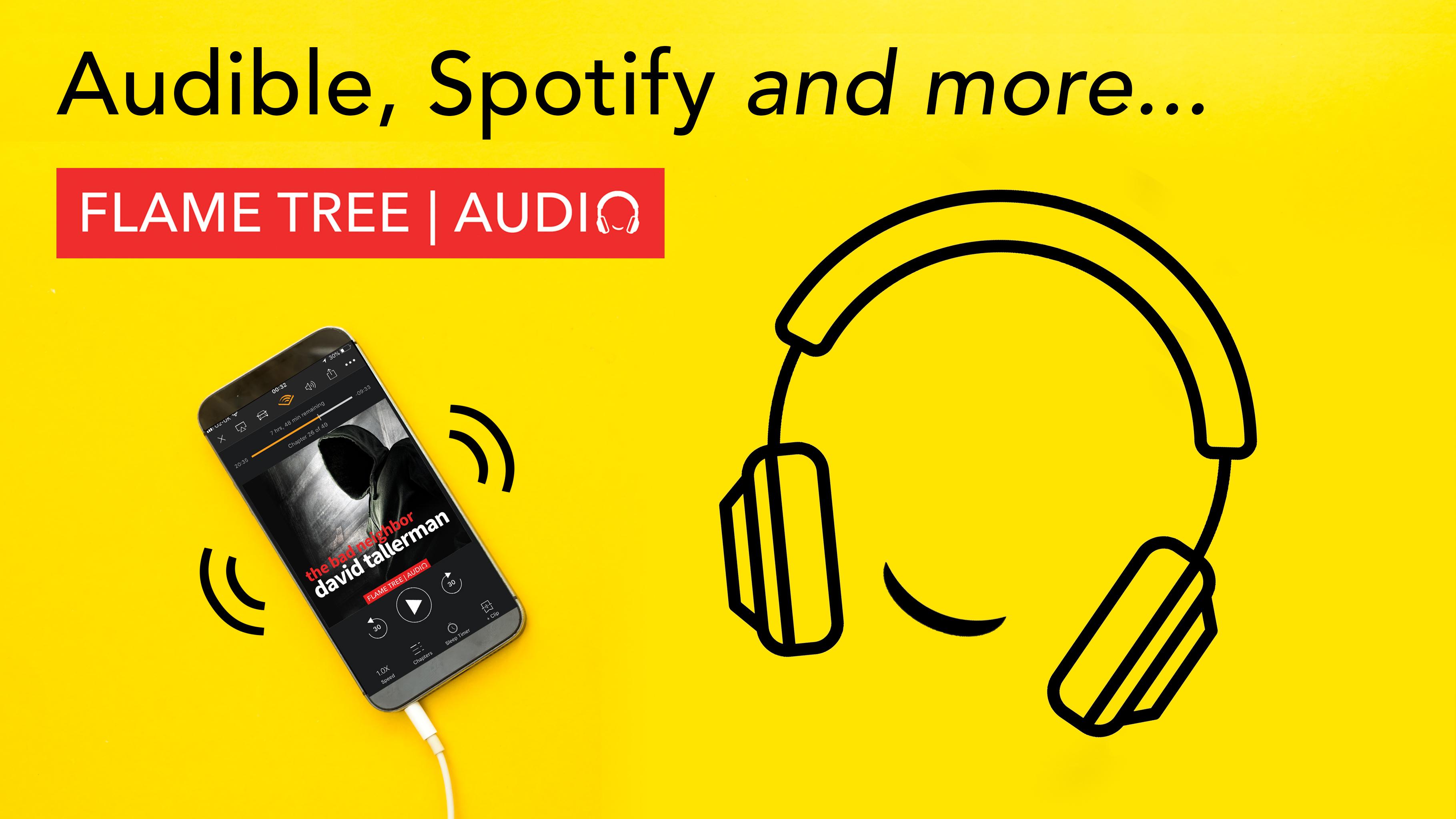 Flame Tree Audiobooks, anytime, anywhere, The bad Neighbor