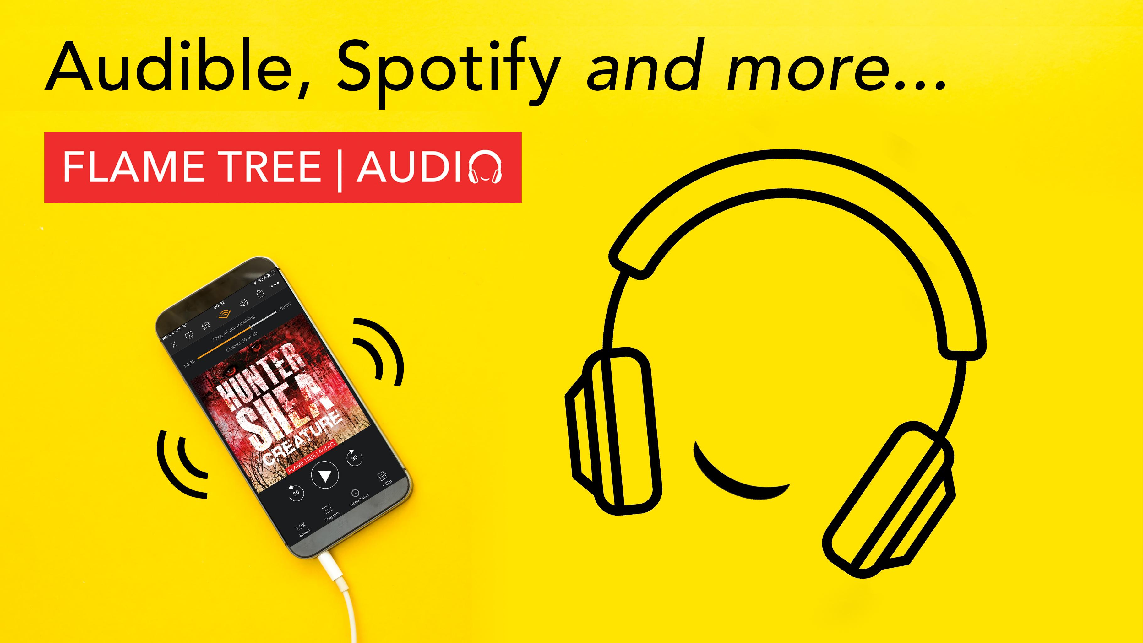 Flame Tree Audiobooks, anytime, anywhere, Creature