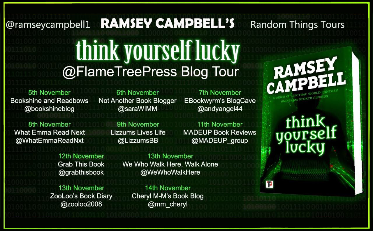 Bloggers, Author Blog Tour, Think Yourself Lucky