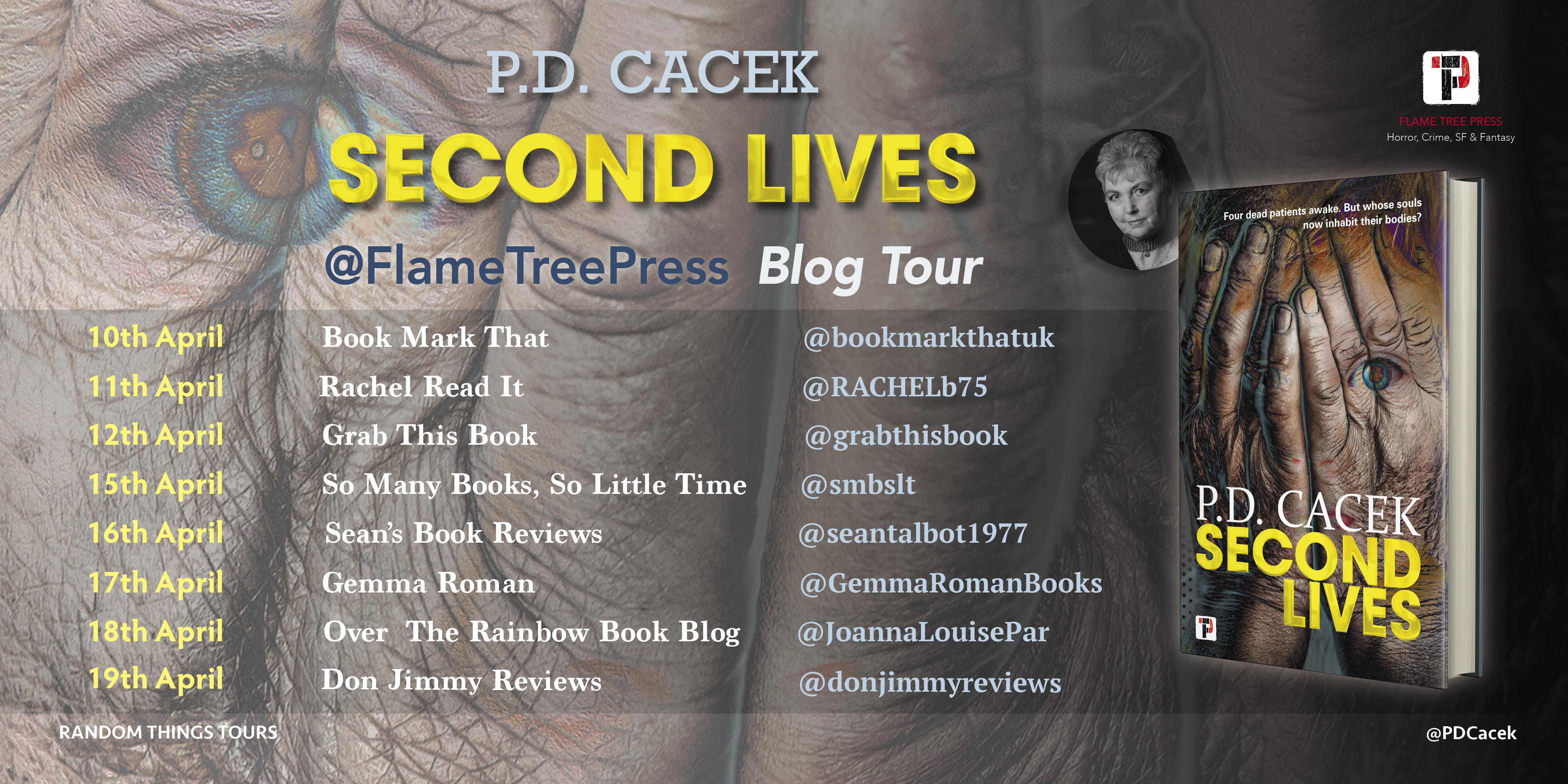 P.D. Cacek - Second Lives Blog Tour