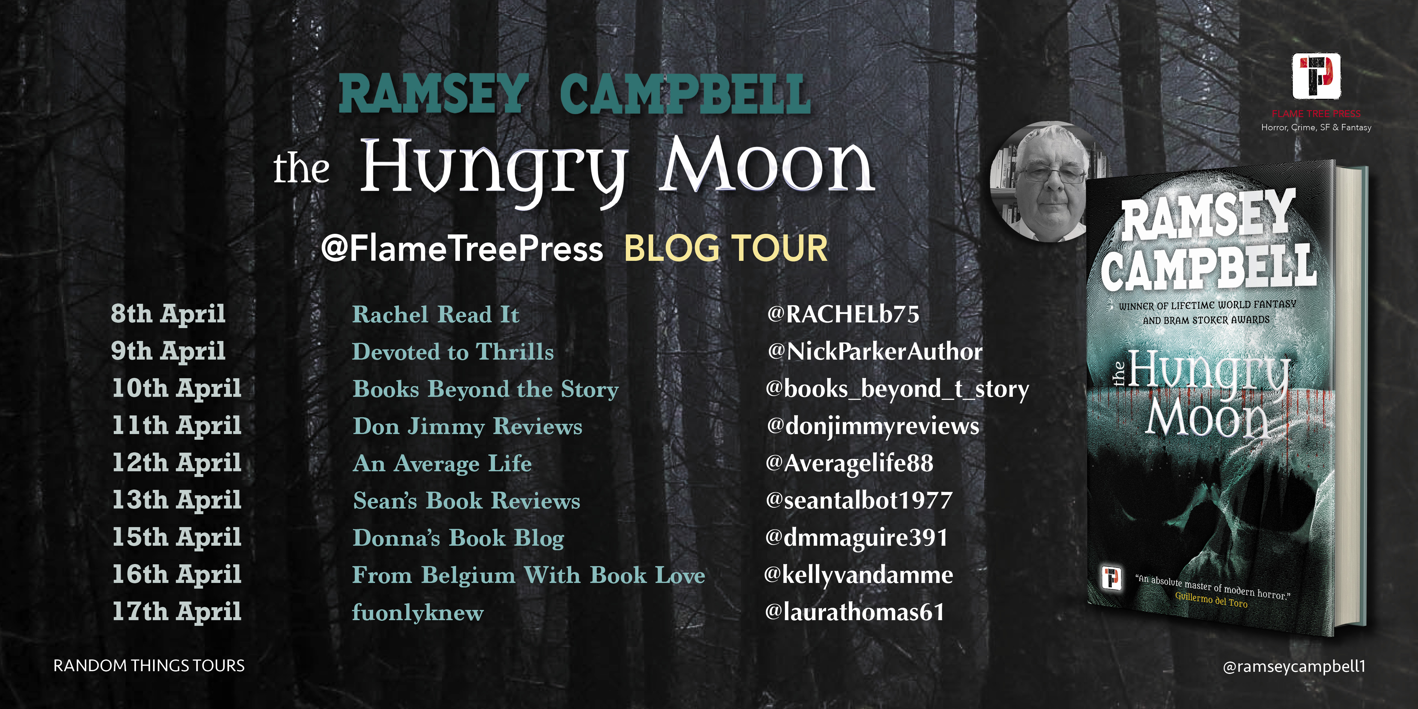 Ramsey Campbell - The Hungry Moon Blog Tour