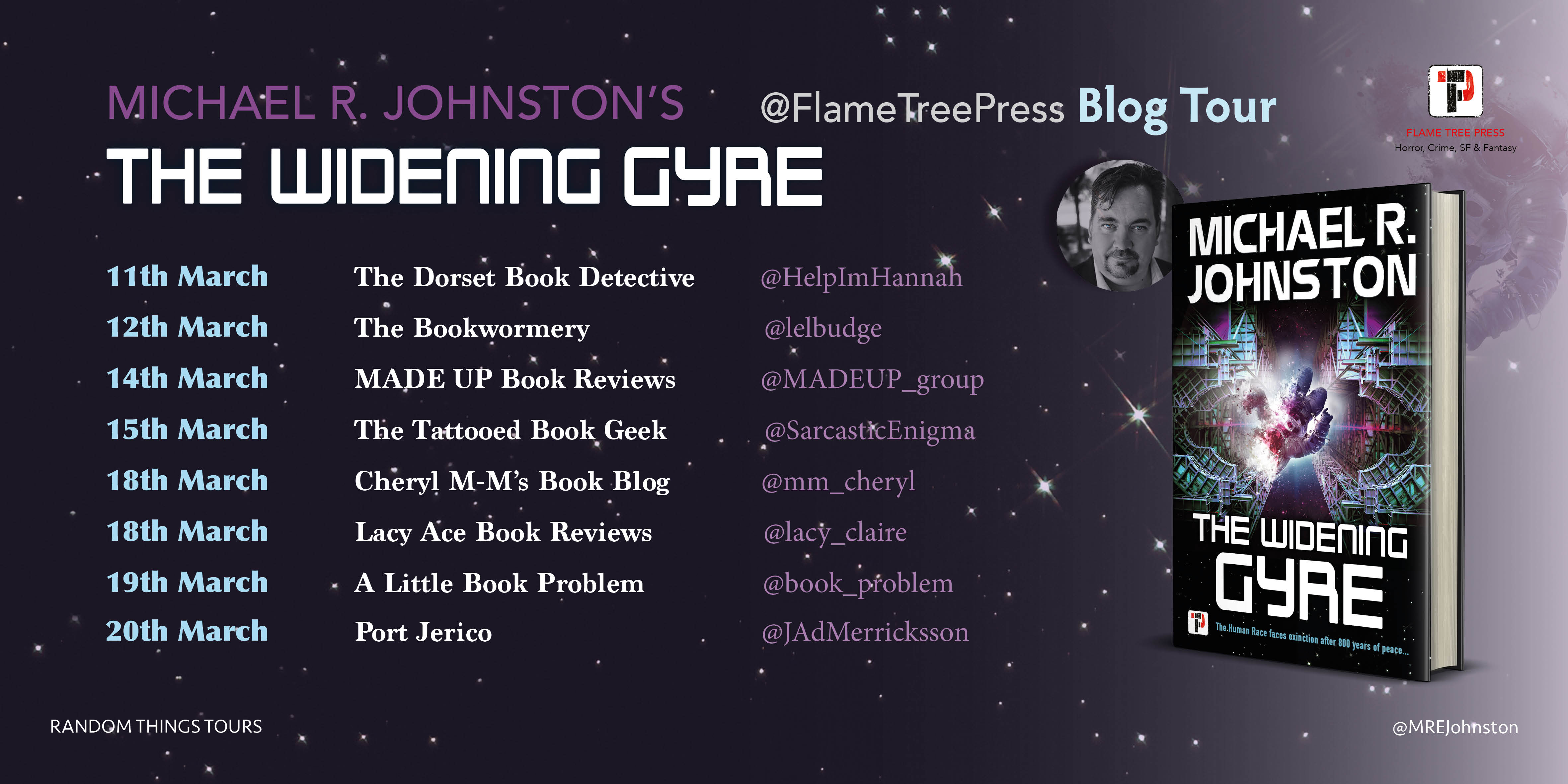 Michael R. Johnston - The Widening Gyre Blog Tour