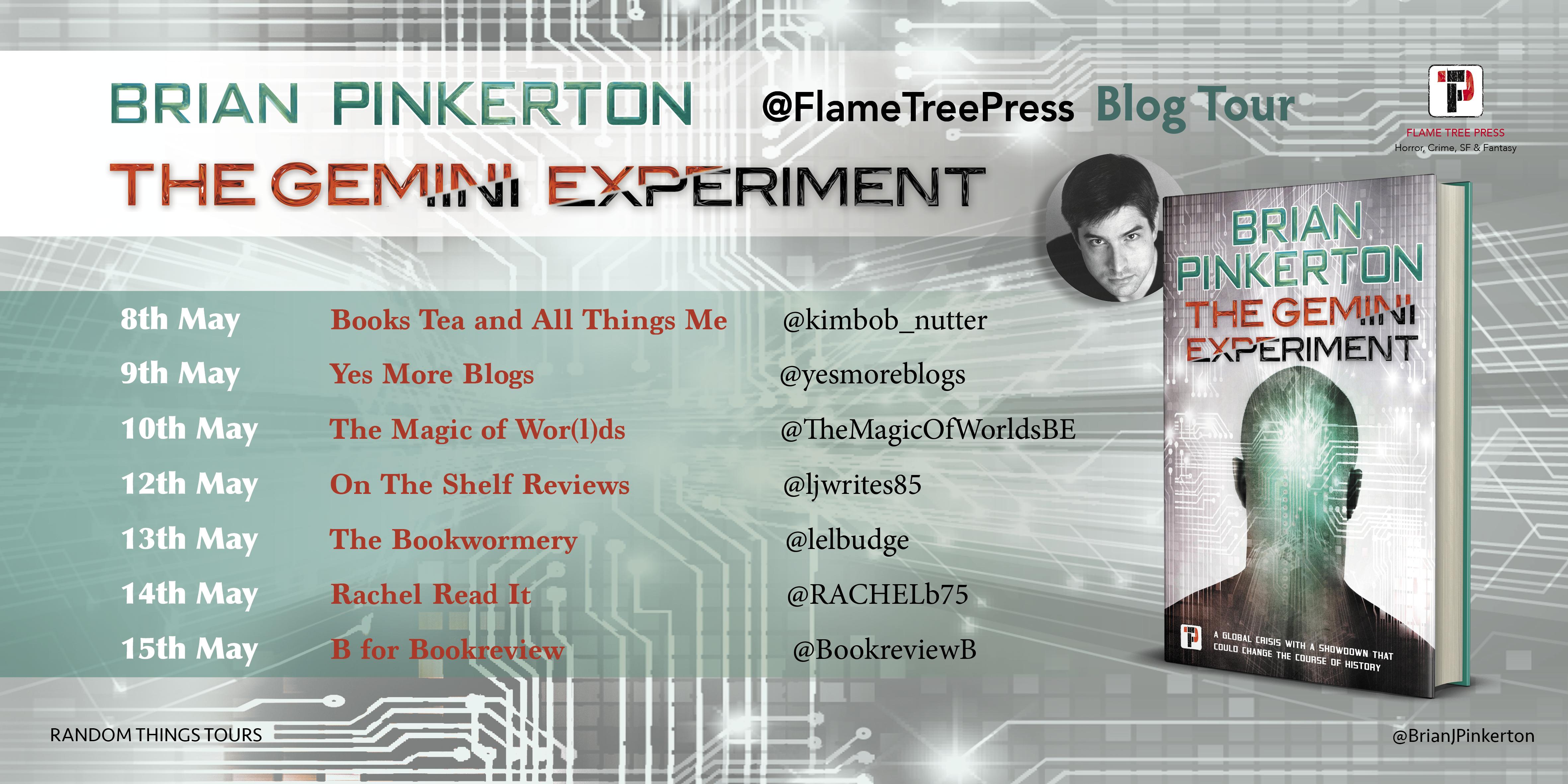 Brian Pinkerton - Gemini Experiment Tour